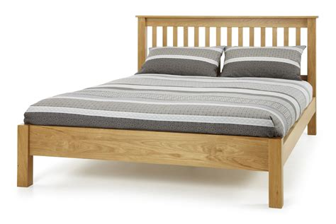low wood bed frame serene lincoln lfe oak bed frame from the bed station