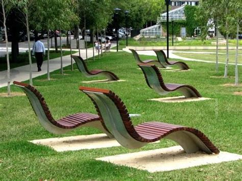 public bench best public benches design urban furniture viral3k