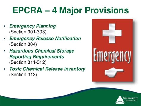 epcra section 313 improve your chemical inventory management system