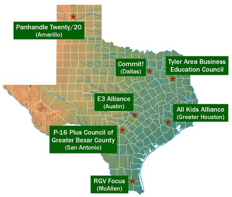 alliance texas map all alliance our national and state networks