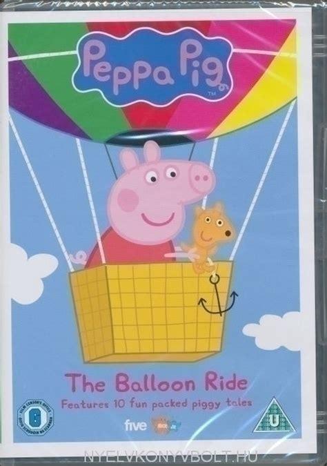 peppa pig  balloon ride dvd nyelvkoenyv forgalmazas