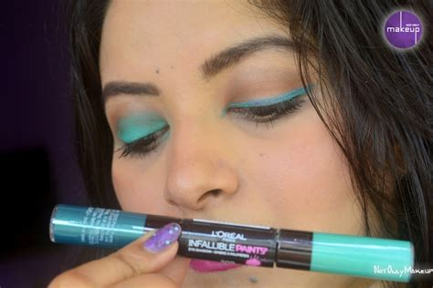 L Oreal Infallible Paints Mint Detox Review l oreal infallible paints eyeshadow mint detox review