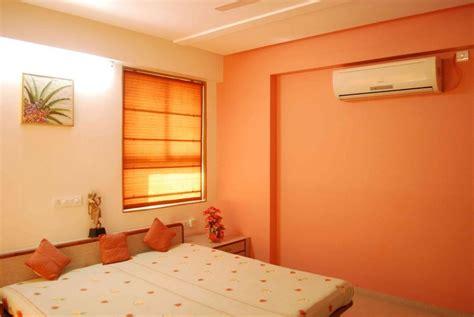 orange color scheme  living room bedroom orange color