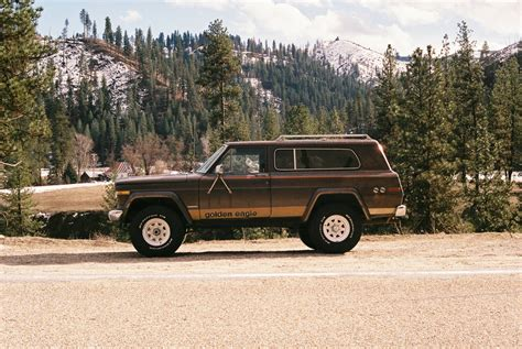 jeep cherokee golden eagle share your 35mm film photographs of fsjs full size jeep