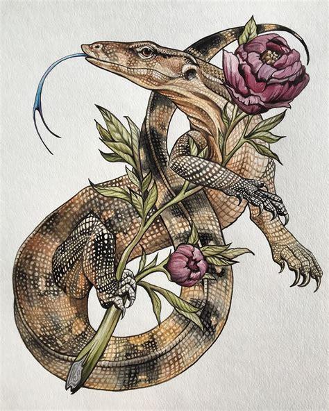 Monitor Watercolor Illustration By Veronica Steiner Lizard Designs