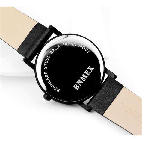 Jam Tangan Analog Wanita Fashion enmex jam tangan analog fashion wanita e7302 blue