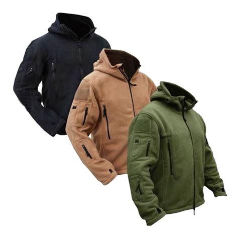 Jaket Bomber Taktikal Jaket Pria Outerwear Jaket Hiking Jaket Motoring aliexpress buy us winter thermal fleece tactical jacket outdoors sports