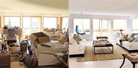 after stable overhaul living room best before and after quick house makeover 5 little things that can make a big
