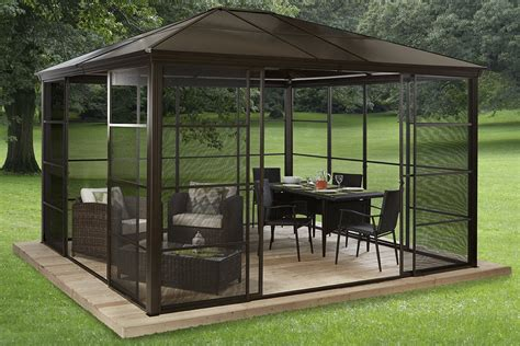 How To Hang Curtians Our Review Of The Best 7 Hardtop Gazebos