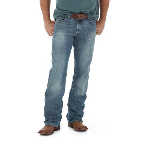 boot cut mens wrangler retro mid rise boot cut jean