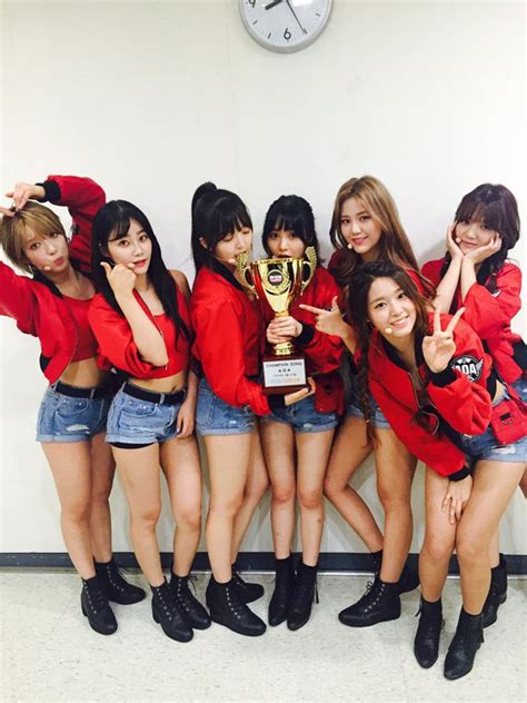 boys apinkasia aoa grabs 2nd win for good luck on show chion