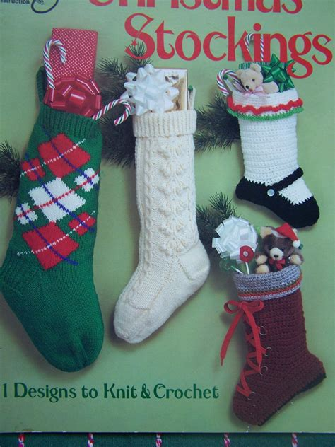 patterns for vintage christmas stockings 11 vintage christmas stockings patterns 5 knitting 6 crochet