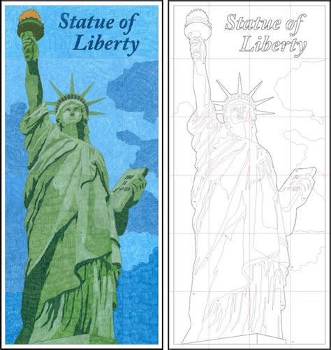 statue of liberty craft for projects for statue of liberty diagram 2nd