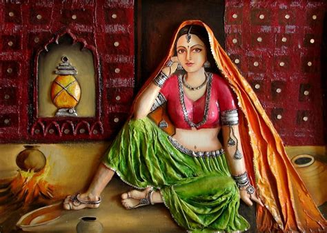 rajasthani painting wallpaper gallery
