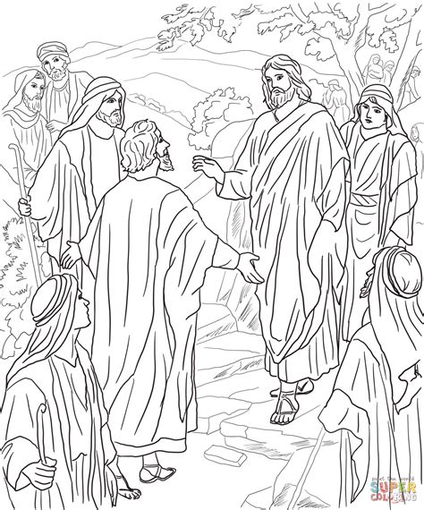 transfiguration coloring page az coloring pages
