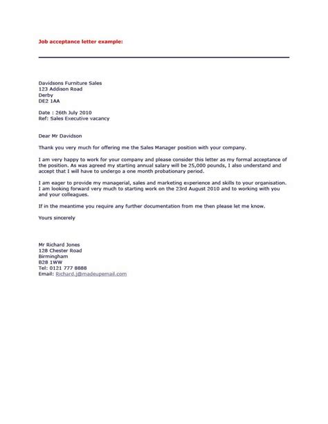 Acceptance Letter By Email 40 Professional Offer Acceptance Letter Email Templates Template Lab