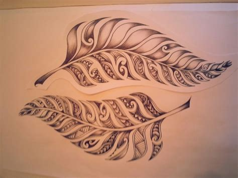 how to design a maori tattoo 20 fern tattoos tattoofanblog