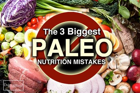 Paleo Based Detox Diet by The 3 Paleo Diet Mistakes Drjockers