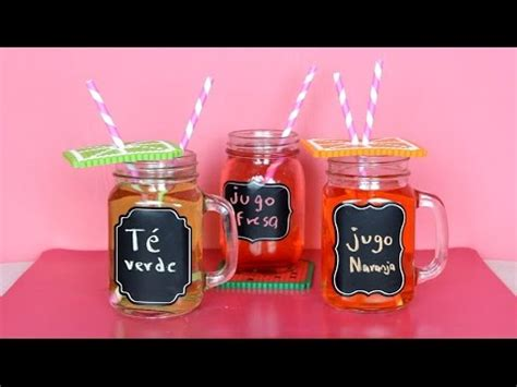 decorar vasos con tapa vasos bonitos decora frascos de vidrio youtube