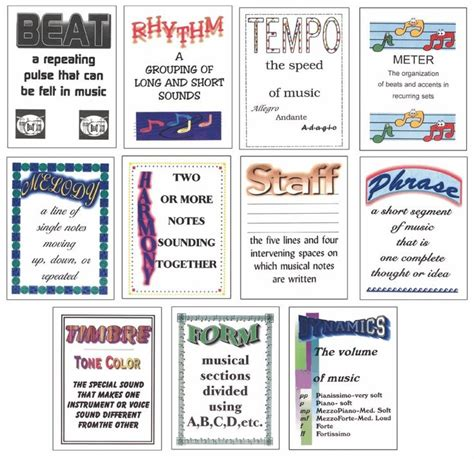 elements music elementary elements posters graphics searching and good