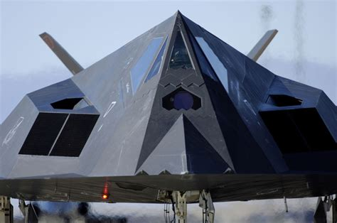Lockheed F-117 Nighthawk (Stealth Fighter) Low Observable ... F 117 Stealth Fighter Cockpit