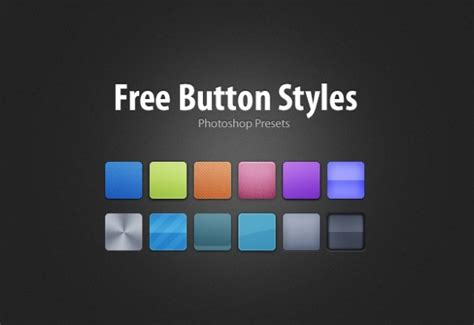 button styles  psd file