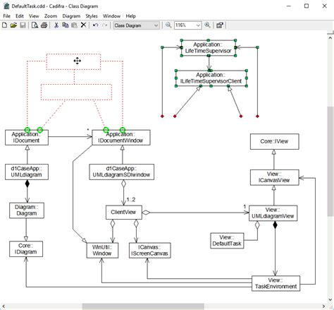 class diagram in uml pdf cadifra uml editor screenshots