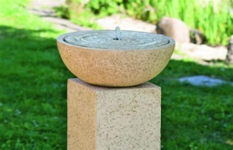 fontane da giardino obi fontane pietre minilaghetti ruscelli consigli obi