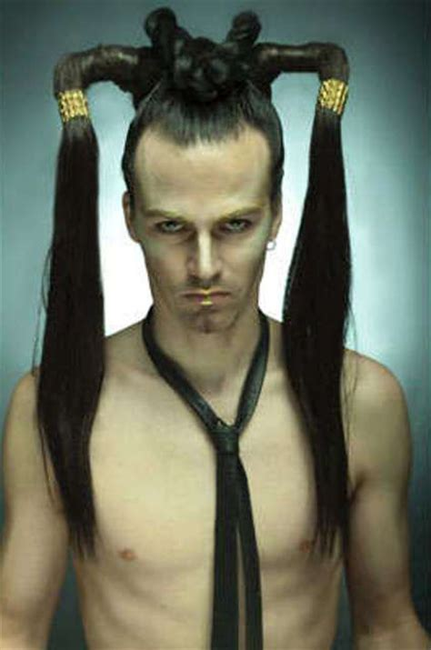 mens poney tail styles long hairstyles for men