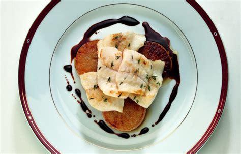 cucinare il rombo in padella ricetta filetto di rombo e daikon le ricette de la