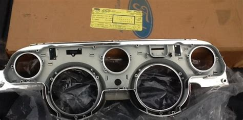 purchase nos ford 1967 mustang shelby deluxe aluminum instrument cluster motorcycle in