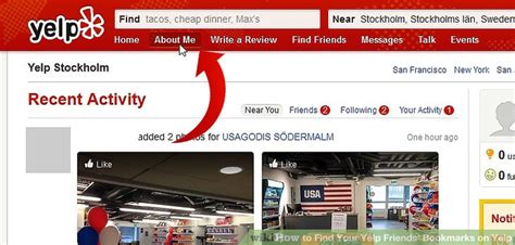 How To Search On Yelp How To Find Your Yelp Friends Bookmarks On Yelp 10 Steps