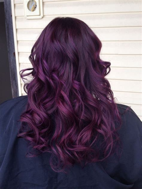 violet hair color 25 best plum purple hair ideas on plum hair