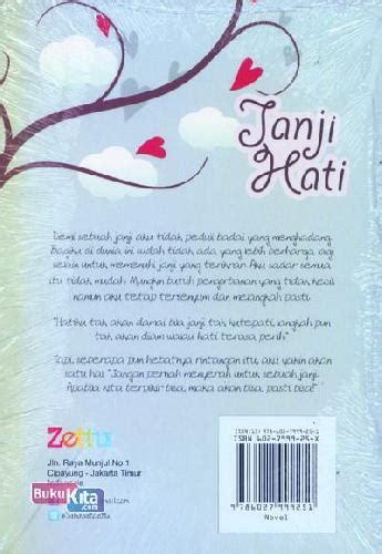 Teenlit Janji Hati Soft Cover Cover Oleh Elvira Natali bukukita janji hati toko buku