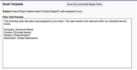 salesforce email templates