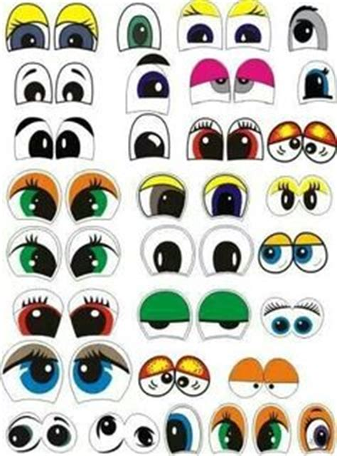 printable shopkins eyes print your own eye stickers template pack print by