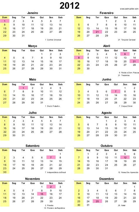 Calendario De 2012 Calendario 2012 Para Imprimir