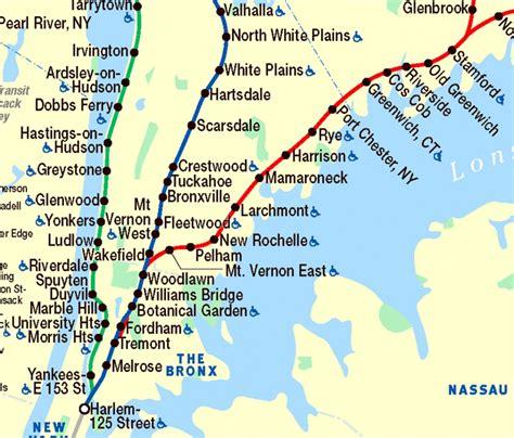 metro harlem line map part of metro shut malloy says to expect