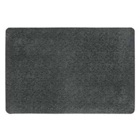 Home Depot Rubber Mat by Notrax Pebble Trax Black 24 In X 36 In Rubber Top Pvc