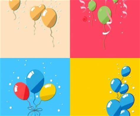 Balloonable Pita Balon Ribbon Balon balon latar belakang desain warna warni yang sibuk pita dekorasi vektor misc vektor gratis