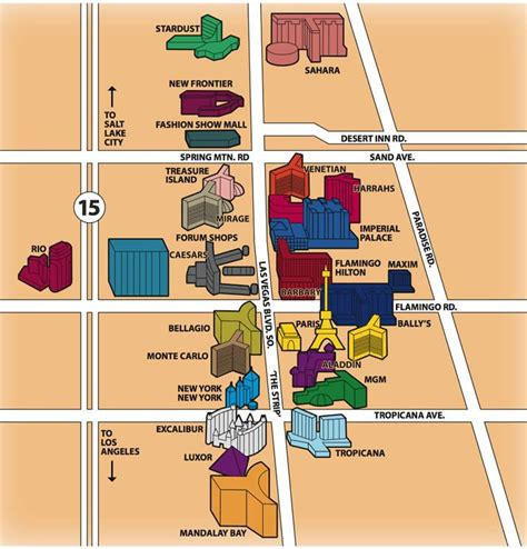 hotel layout on las vegas strip map of hotels on the las vegas strip yahoo image search