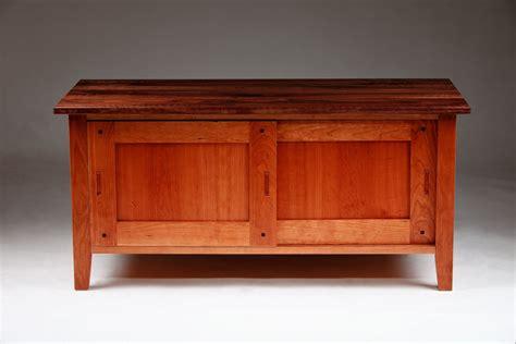 Low Cabinets by Custom Cherry Walnut Low Cabinet By Bernwood Custom