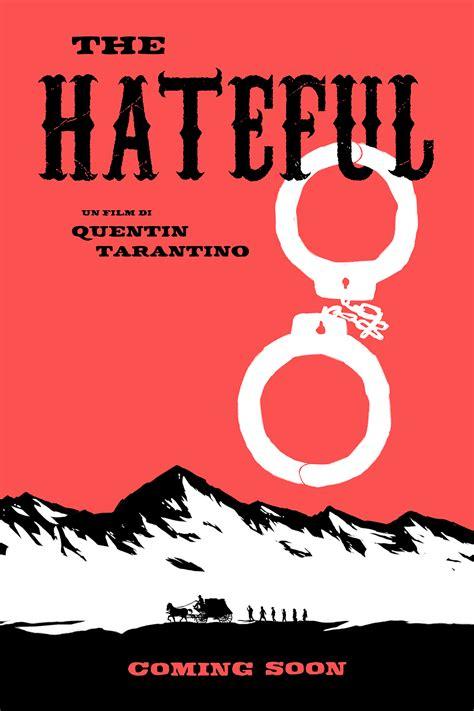 Plakat Quentin Tarantino by The Hateful Eight Plakate Poster Original