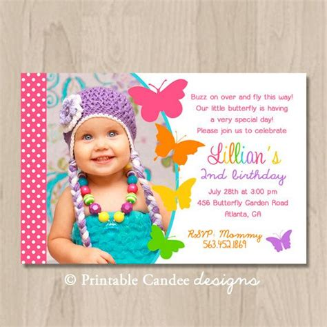 Butterfly Birthday Invitation Cards Butterfly Birthday Invitation Butterfly Birthday