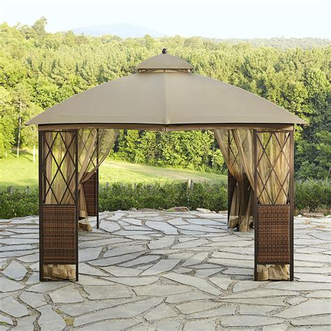 hot tub gazebo spa awning garden canopy outdoor sun shade