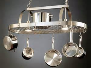 Kitchen Light Pot Rack A Pot Rack In Its Proper Place Diy