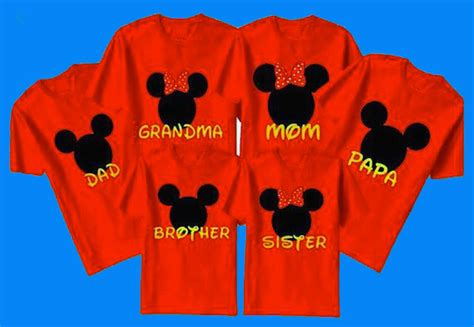 design a disney vacation shirt do you wear custom t shirts for your disney family vacation