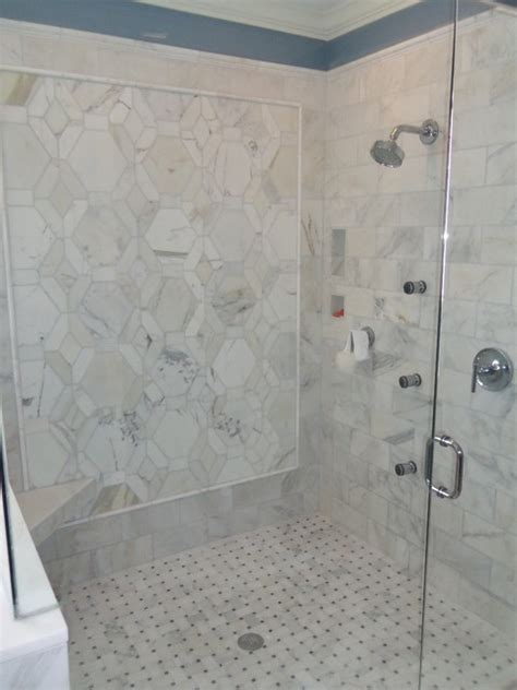 Carrara Marble Bathroom Ideas Carrara Marble Master Bathroom Traditional Bathroom Charleston By Buckhannon Brothers Tile