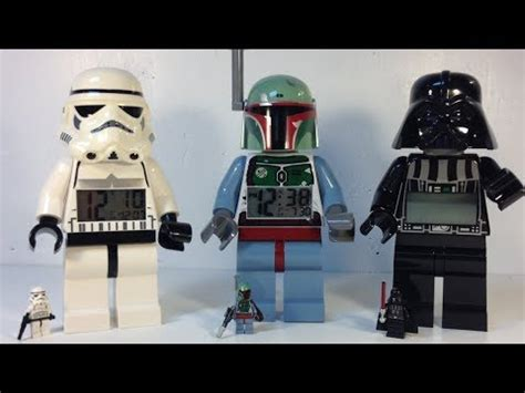 Lego Mini Figure Alarm Clock Boba Fett lego wars large minifigure alarm clocks boba fett