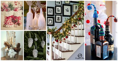 16 easy diy christmas decorations and crafts anyone can